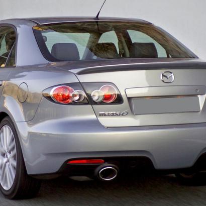 Спойлер на крышку багажника на Mazda 6 GG, GY