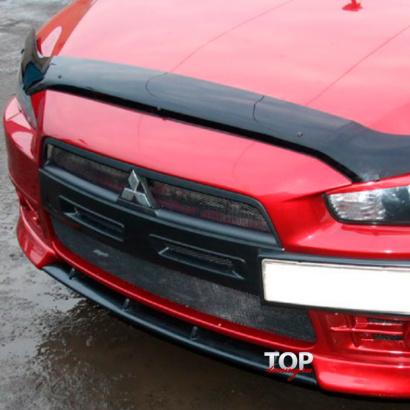Ноздри в передний бампер R-art (ДОРЕСТАЙЛИНГ) на Mitsubishi Lancer 10 (X)