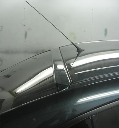 Козырек на заднее стекло на Mazda 3 BK