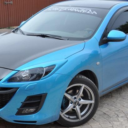 Тюнинг - Реснички на Mazda 3 BL