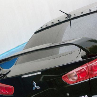 Козырек на Mitsubishi Lancer 10 (X)