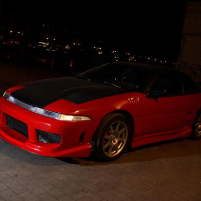 Обвес на Mitsubishi Eclipse 1 (D2 A)