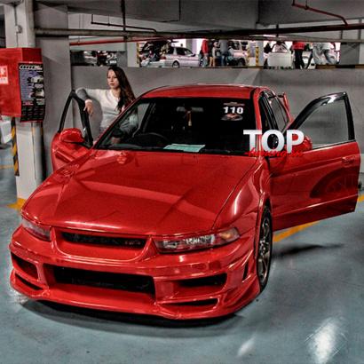 Обвес на Mitsubishi Galant 8