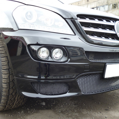 Маски для противотуманных фар на Mercedes ML 164