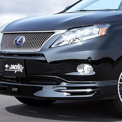 Накладка на передний бампер на Lexus RX  3
