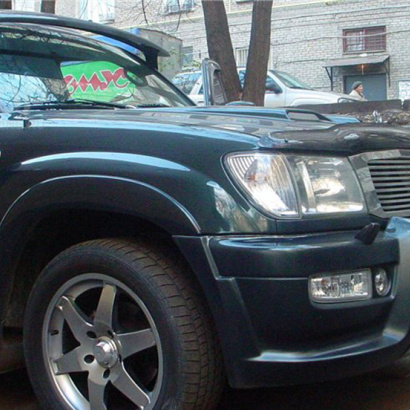 Комплект расширения на Toyota Land Cruiser 100