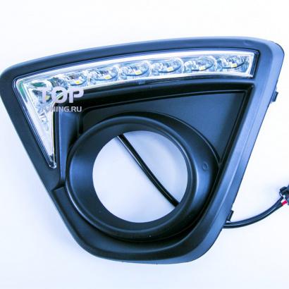 Дневные ходовые огни на Mazda CX-5 1 поколение