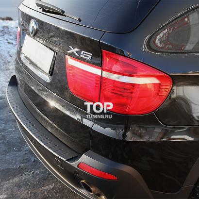 Накладка на задний бампер Line на BMW X5 E70
