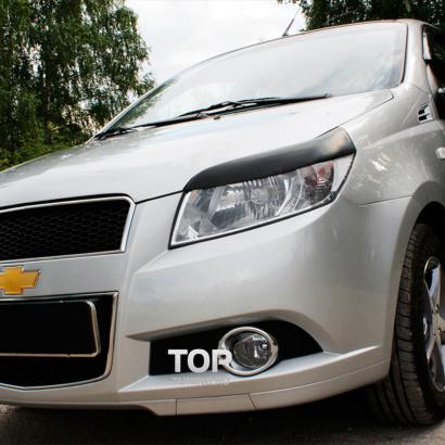 Тюнинг - Реснички на Chevrolet Aveo 1