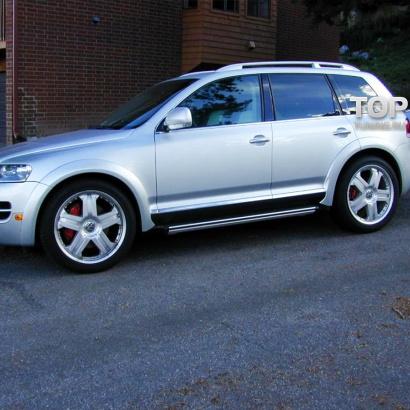 Комплект расширения на VW Touareg I