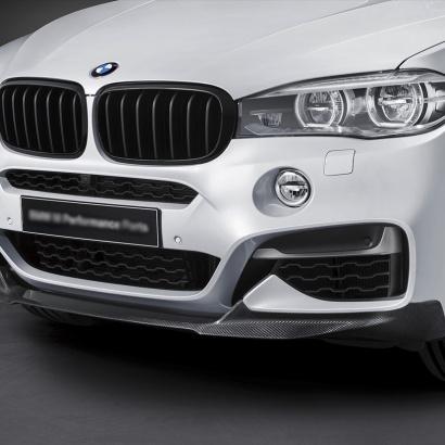 Юбка переднего бампера на BMW X6 F16