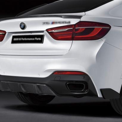Диффузор заднего бампера на BMW X6 F16