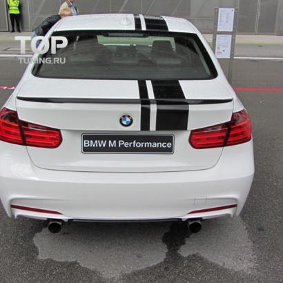 Спойлер на крышку багажника на BMW 3 F30
