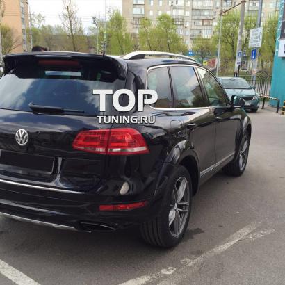 Спойлер крышки багажника  на VW Touareg II