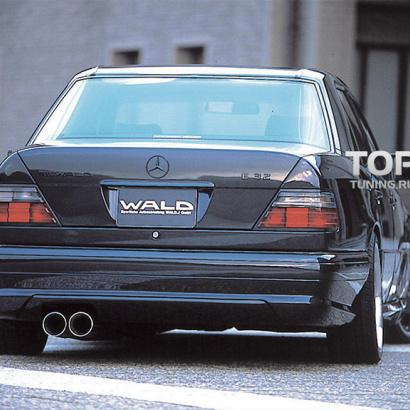 Задний бампер на Mercedes E-Class W124