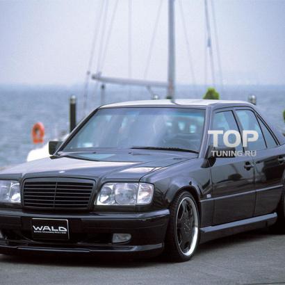 Комплект порогов на Mercedes E-Class W124