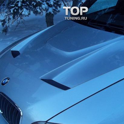Капот с жабрами на BMW X5 E70