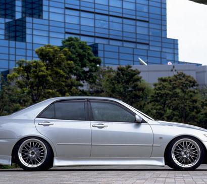 Пороги - Обвес Vertex  №2 на Toyota Altezza is200
