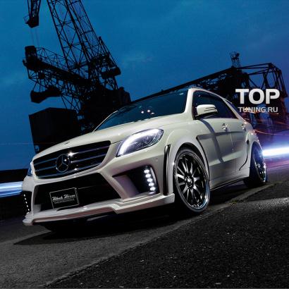 Тюнинг - Обвес на Mercedes ML 166