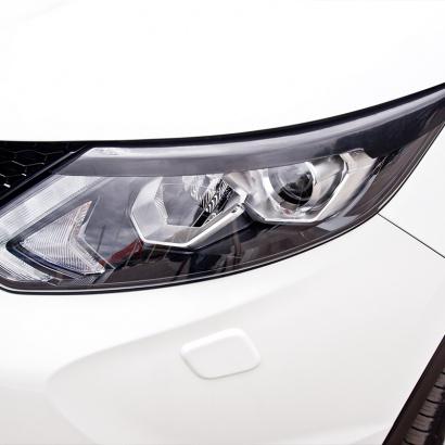 Реснички на переднюю оптику на Nissan Qashqai 2