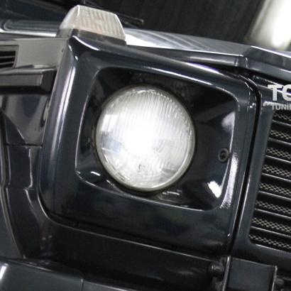 Облицовка передней оптики на Mercedes G-Class W463
