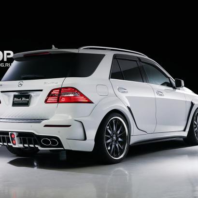 Пакет расширения на Mercedes ML 166