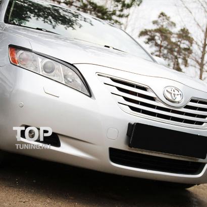 Реснички на Toyota Camry V40 (6)