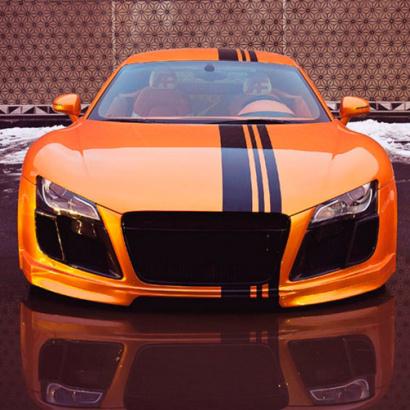 Аэродинамический обвес GT на Audi R8