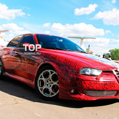 Тюнинг - Обвес на Alfa Romeo 156