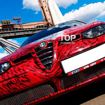 Решетка радиатора на Alfa Romeo 156