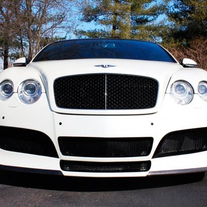 Передний бампер на Bentley Continental GT 1