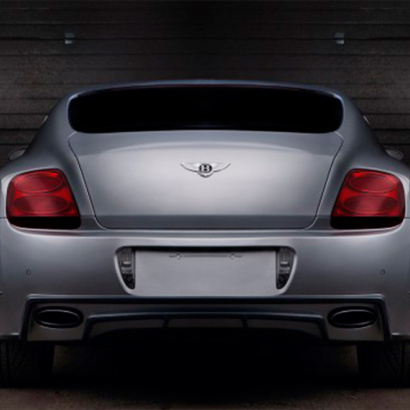 Задний бампер на Bentley Continental GT 1