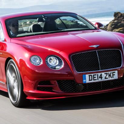 Штатный капот на Bentley Continental GT 1