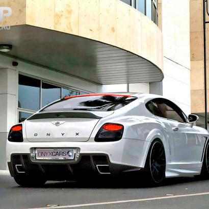 Спойлер крышки багажника  на Bentley Continental GT 1