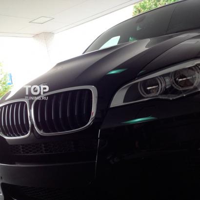Горбатый капот на BMW X6 E71