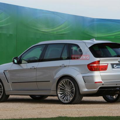 Комплект порогов на BMW X5 E70
