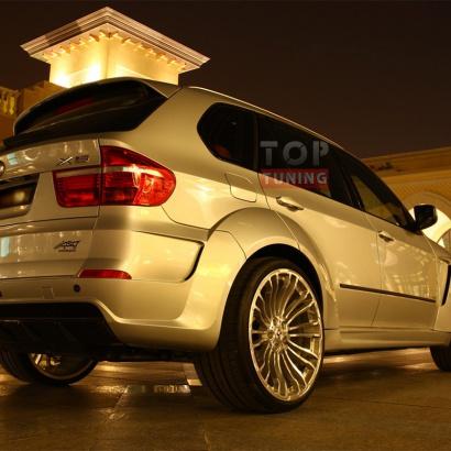 Комплект расширения на BMW X5 E70