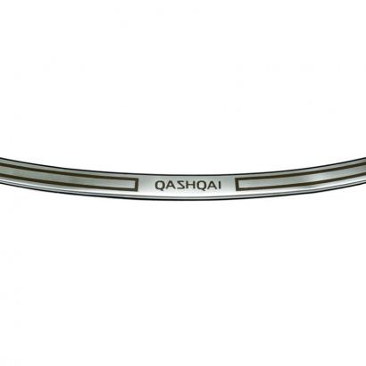 Накладка на задний бампер на Nissan Qashqai 2