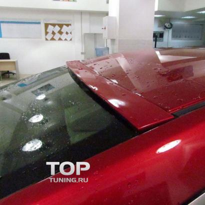 Спойлер на заднее стекло на Mazda 6 GJ
