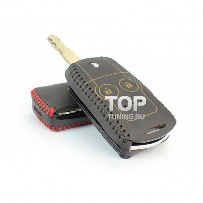 Кожаный чехол для ключей на Honda CR-V
