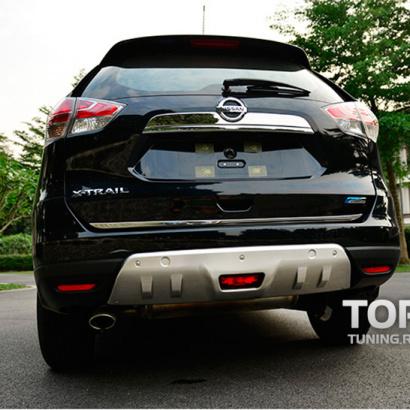 Протекторы бамперов на Nissan X-Trail T32