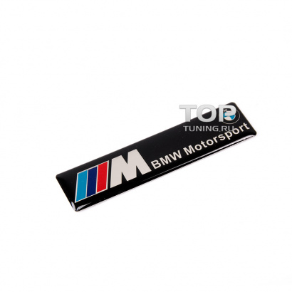 Наклейка эмблема на BMW