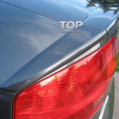 Лип спойлер на Audi A4 B7