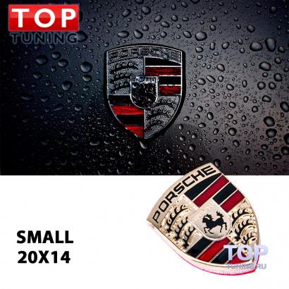 Эмблема шильд - малый на Porsche