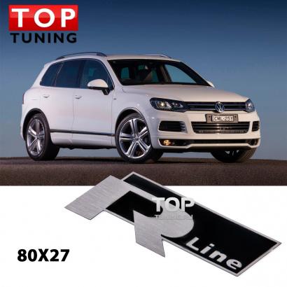 Наклейка эмблема на VW