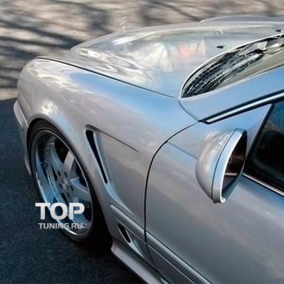 Передние крылья  на Mercedes CLK-Class W208
