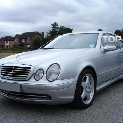 Комплект обвеса на Mercedes CLK-Class W208