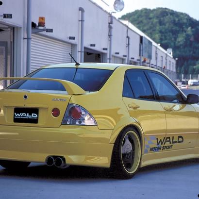 Задняя юбка на Toyota Altezza is200