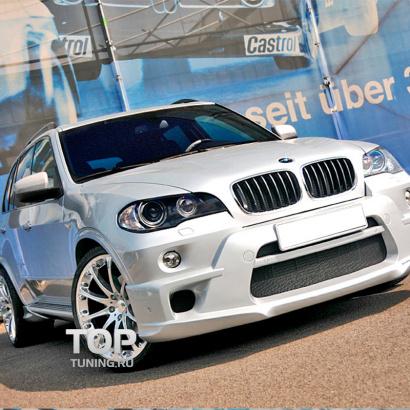 Аэродинамический обвес на BMW X5 E70