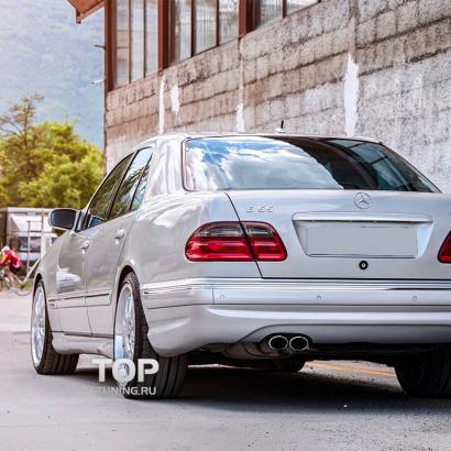 Задний бампер на Mercedes E-Class W210